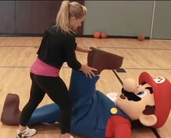 What we'd give to be Mario right now!
