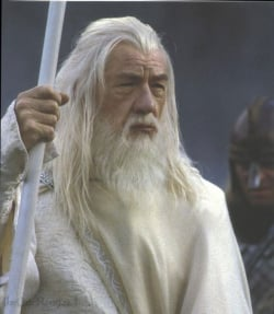 Gandalf is whiter than white