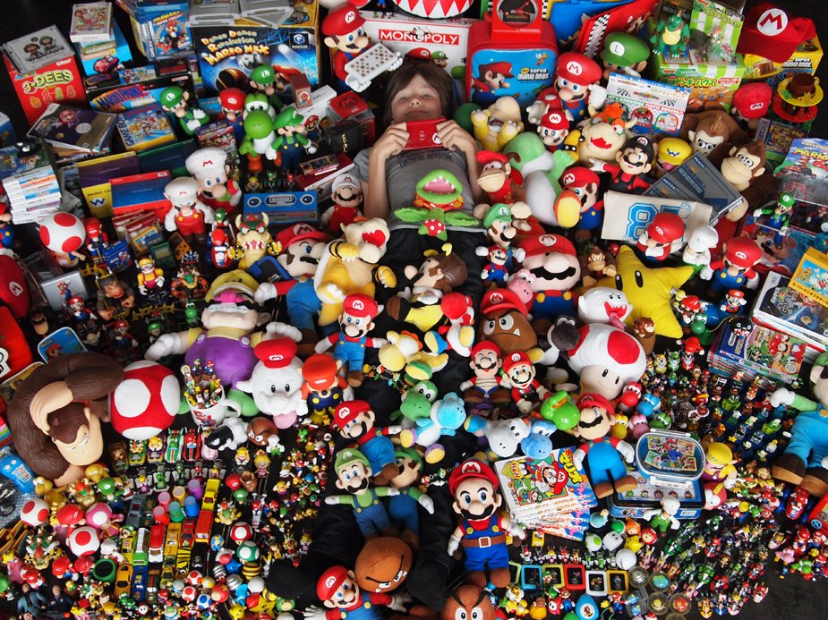 This Is The Greatest Mario Collection We Ve Ever Seen