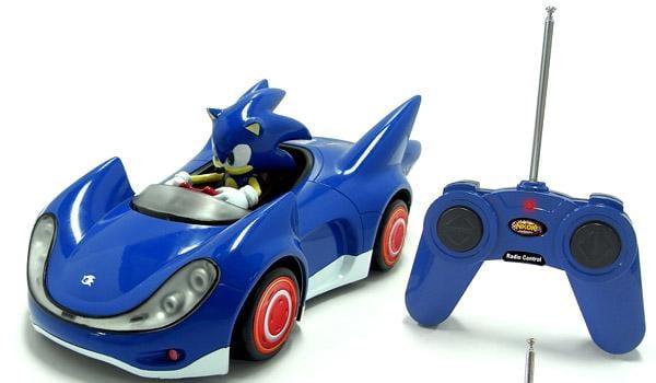 Super Sonic Car Racing