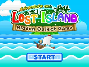 First hidden object: the island