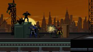 Sunset in Gotham