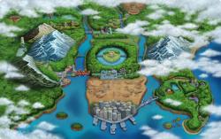 Hiun City lies in the South