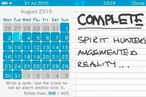 If a digital diary is the most noteworthy release, something must have gone horribly wrong