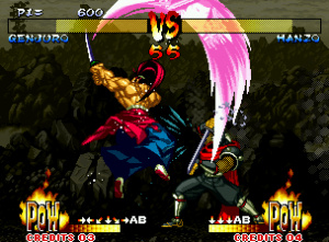 More excellent animations in Samurai Shodown III