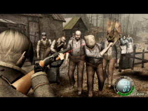 Resident Evil 4 - Fear engulfs you.
