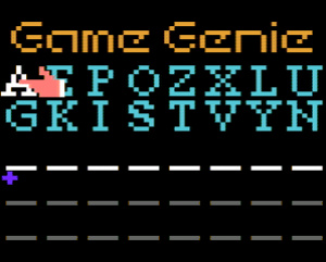 Game Genie: A peek into the game's insides