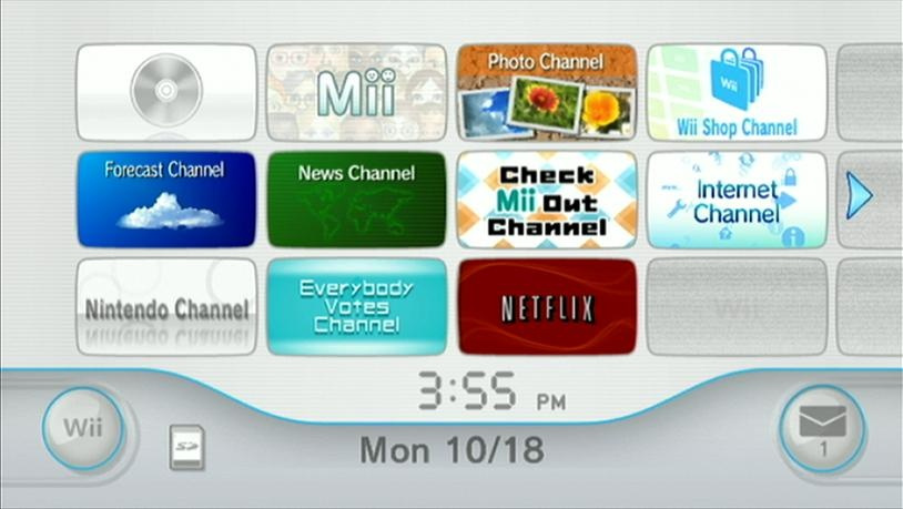 Netflix channel now available from wii shop nintendo life