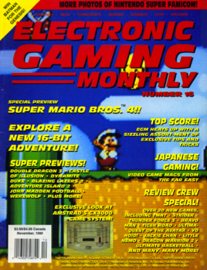 EGM's Super Mario World preview made me do it - I swear!
