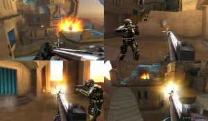 Gunning for a place as one of the Wii's top FPS games