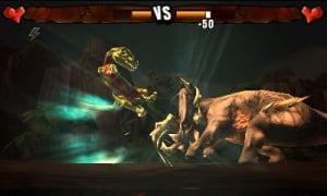 Dino fighting!