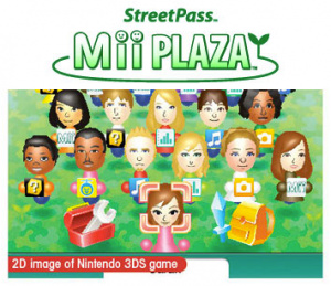Mii Plaza in action