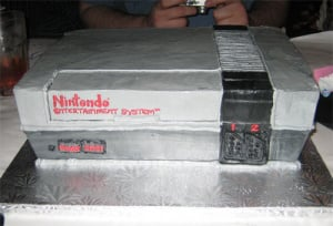 An NES cake, of course.