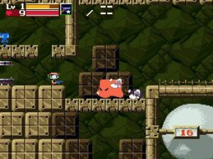 It's Cave Story on the go!