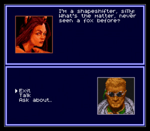 Shadowrun's dialogue is packed with memorable moments