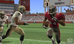 """If you compare against previous versions of Madden... you'll see when you're running with the ball the camera is in tighter on the ball carrier here because it helps draw out that 3D effect."""