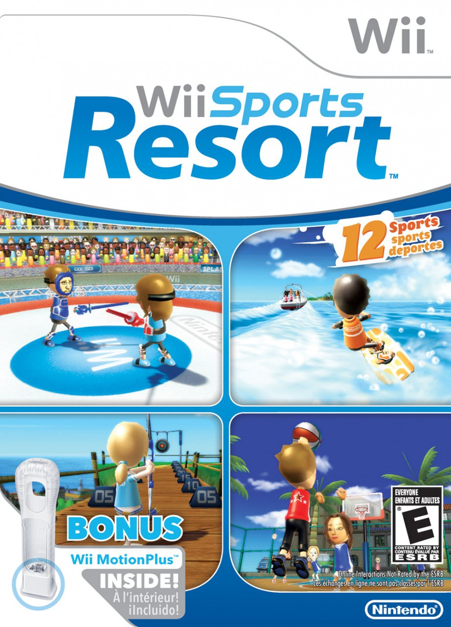 U With Wii Games 2 : Wii sports resort and party drop to next week