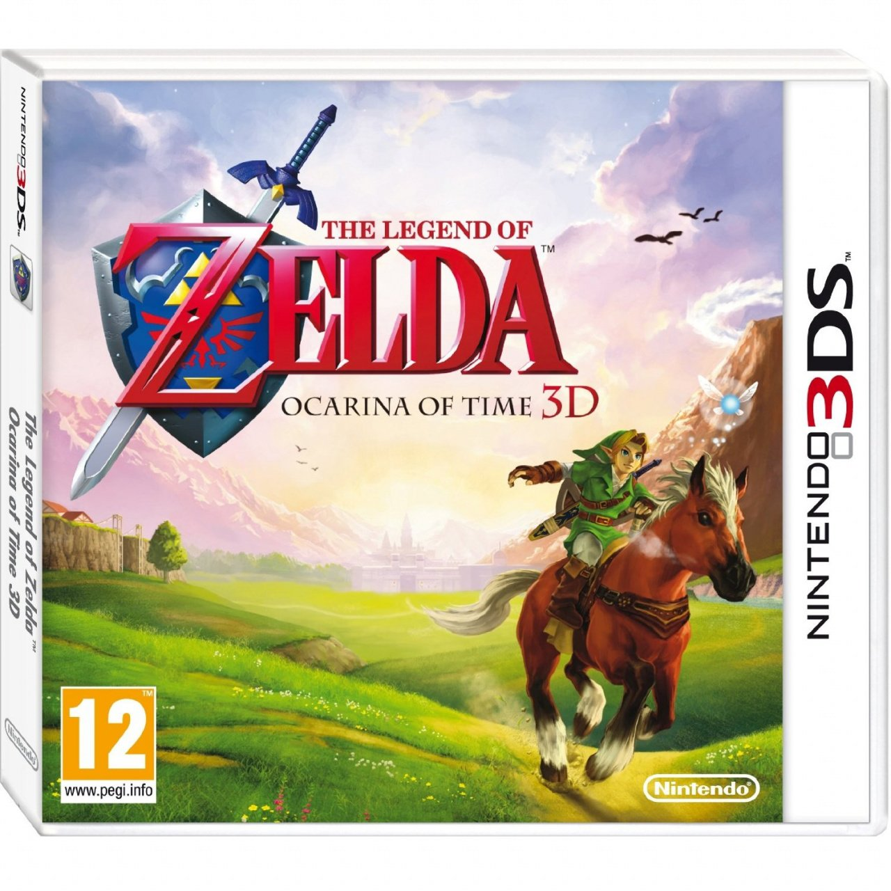 Zelda: Ocarina of Time 3D's European Box Art is Simply