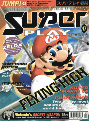 The last issue featured extensive N64 coverage - a hint of things to come