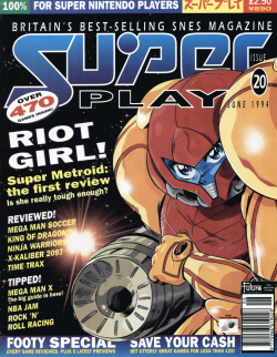 Wil Overton's brilliant original artwork gave Super Play an identity all its own
