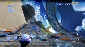 Wipeout meets F-Zero on WiiWare