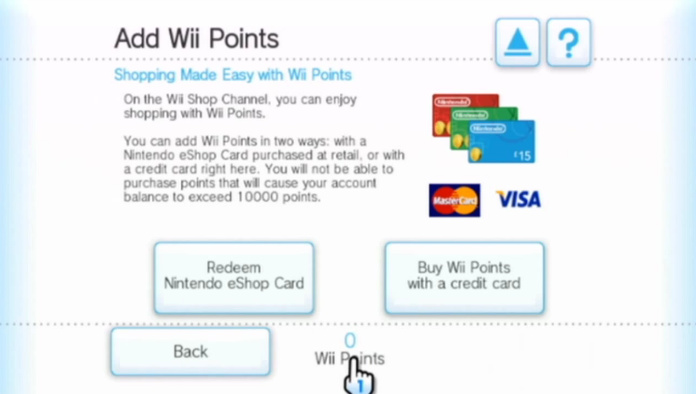 Wii Shop Channel Now Accepting eShop Cards - Nintendo Life