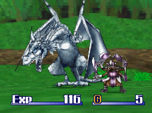 Monster hunting Dragon Quest-style