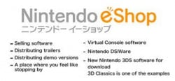 The eShop will do all of this