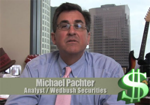 A rare photo of Pachter with his mouth shut.