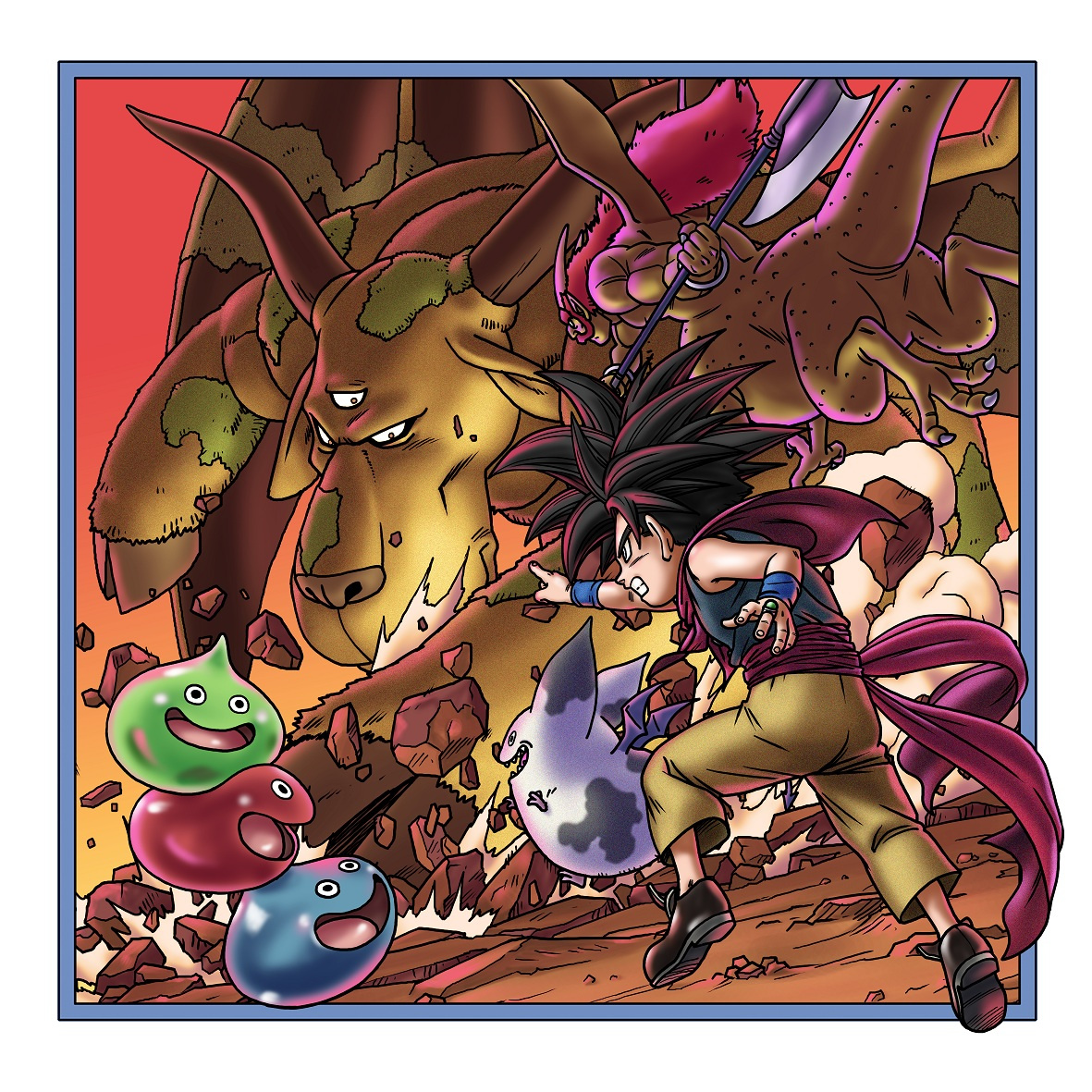 Dragon Quest monsters joker Synthesis Dragonlord