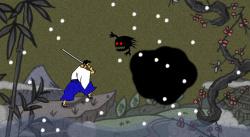 Will this poor samurai ever win?