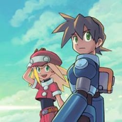 Just turn around and don't look back, Mega Man