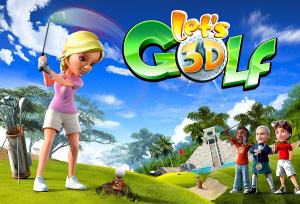 It's golf in 3D, you know.