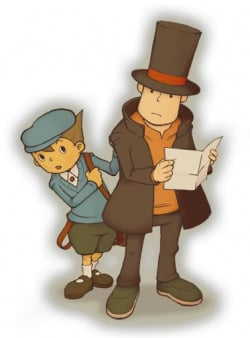 Layton's reading about himself in this week's Famitsu