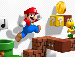 Mario goes 3D