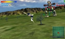 In this image, the large robot represents the UK top ten, while Star Fox represents Star Fox