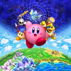 A happy Kirby