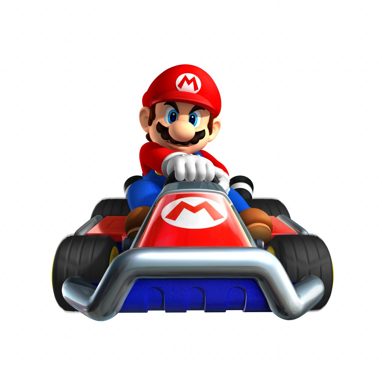 mario kart 7 art races your screen nintendo life. Black Bedroom Furniture Sets. Home Design Ideas