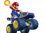 Mario Kart 7 Art Shows DK, Peach and Big Blue Shells