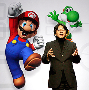 Iwata needs some help from his friend