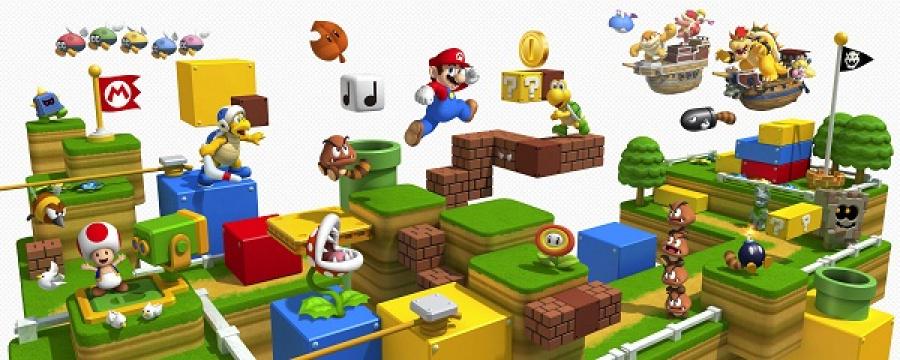 Mario goes big!