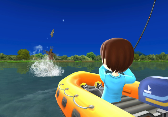 First impressions fishing resort nintendo life for Fishing resort wii