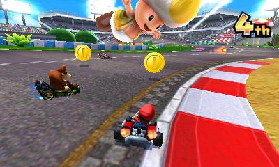 Münzen in Mario Kart 7