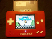 HandyNES Is a Portable NES and That's Cool Enough