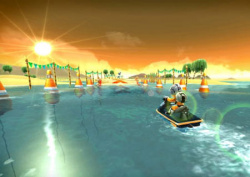 This is Jett Rocket on WiiWare; will the eShop version look as good?