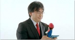Satoru Iwata and Mario discuss the future of the 3DS