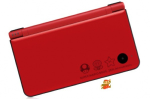 Mario has his own DSi XL design, of course