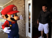 Nate Stehley Looks Happy With His Real-Life Mario Kart