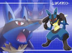 Don't mess with Lucario