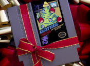 Angry Birds NES Cart Catapults Into View
